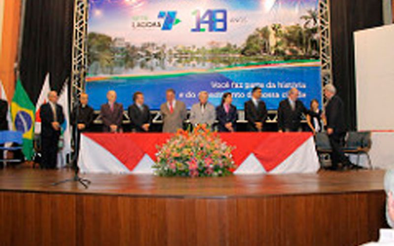 """""""Grande Medalha de Mérito Cidade de Sete Lagoas"""" é entregue na celebração de 148 anos do Município."""