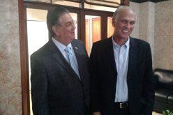 Prefeito encontra-se com vice-governador do Estado.