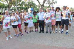 """""""Carnaval"""" de Sete Lagoas é aberto oficialmente com o Bloco do programa """"Mexa-se""""."""