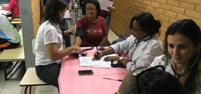 Em parceria com Mexa-se, ESF e NASF Prefeitura Municipal realiza Mutirão de Avaliação de Saúde