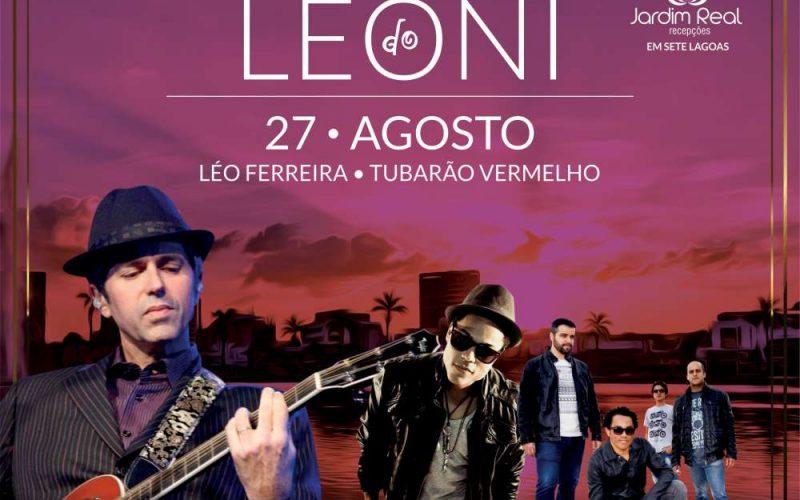 É neste sábado em Sete lagoas o Luau do Leoni