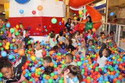 Ação do Shopping Sete lagoas e Serpaf promove mais uma manhã divertida para as crianças do projeto