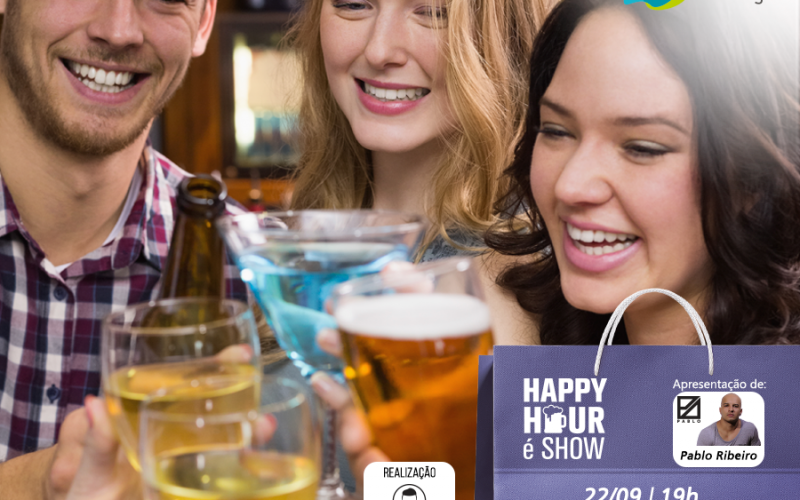 "Quinta-feira é dia de ""Happy Hour é Show"" no Shopping Sete Lagoas"