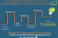 VI Congresso Regional da Saúde e VIII Conferência Acadêmica de Saúde