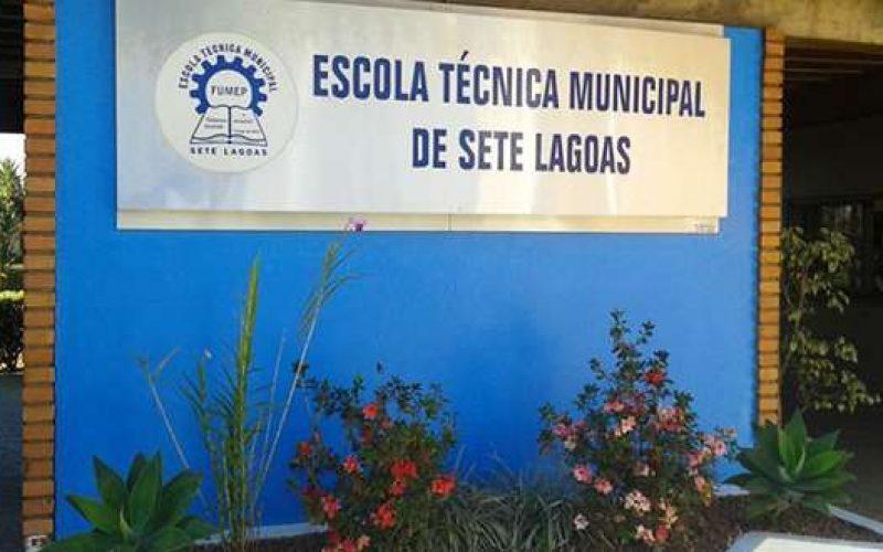 Processo Seletivo da Escola Técnica Municipal de Sete Lagoas