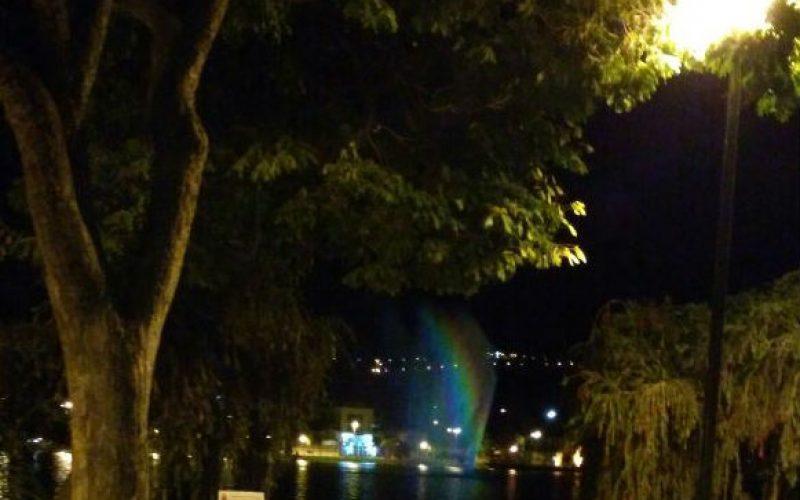 Sete Lagoas recebe presente: Fonte Luminosa da Lagoa Paulino é revitalizada
