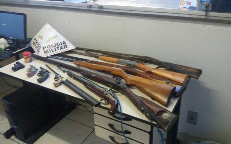 Polícia Militar prende proprietário de fábrica ilegal de arma de fogo