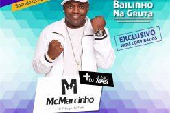 Mc Marcinho faz show neste sábado em Sete Lagoas.