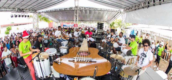 Artistas mineiros fazem a festa no Samba de Noel