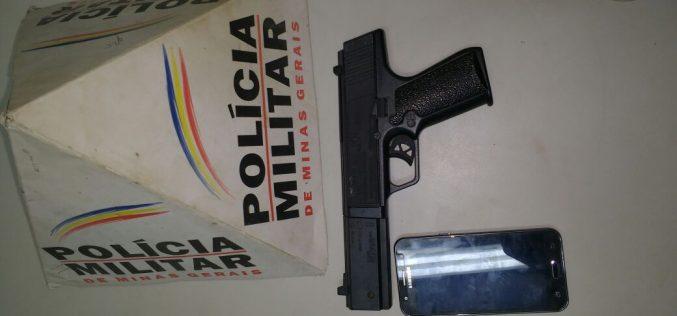 PM prende autor de roubo em Paraopeba