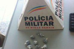 DROGA: ADOLESCENTE É LEVADO PELA POLÍCIA