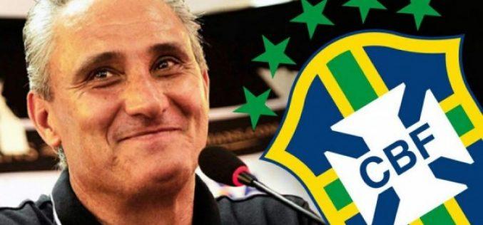 Tite convoca jogadores para Seleção Brasileira