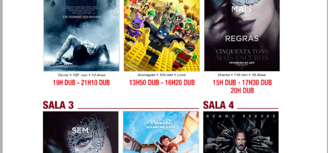 Programação Cineplex desta semana traz a estreia do filme : Jhon Wick- Um novo dia para matar