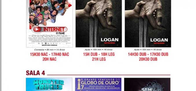 """""""Logan"""" é a novidade do Cineplex desta semana"""