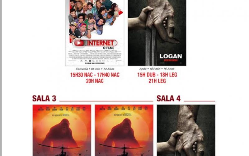 Kong: A Ilha da caveira é a novidade da semana no Cineplex
