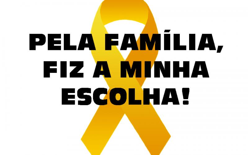 """Campanha Nacional Maio Amarelo e SELTRANS: """"Pela Família, Fiz a Minha Escolha! """""""