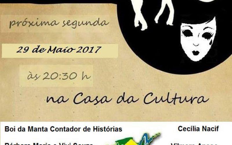 Projeto Art Brasil traz contação de histórias e música na casa da cultura