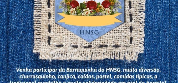Barraquinha Solidária do HNSG