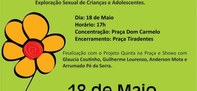 Passeata Contra o Abuso e à Exploração Sexual de Crianças e Adolescentes