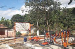 Academia ao ar livre inaugurada na Comunidade de Silva Xavier