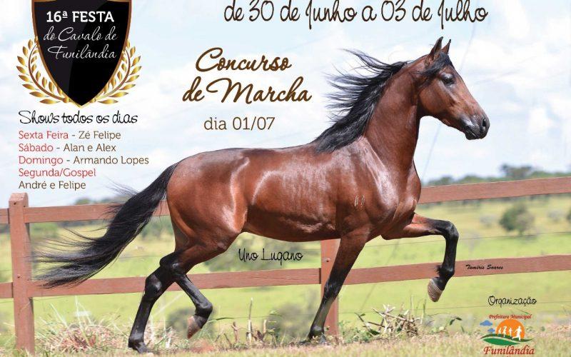 16ª Festa do Cavalo de Funilândia: De 30 de Junho á 3 de Julho