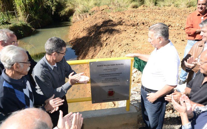 Reivindicação atendida: Inaugurada Ponte No Residencial Pôr do Sol