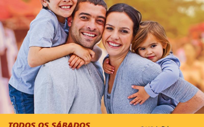 Zumba Kids e Quick Massage na Feira da Família no Shopping Sete Lagoas