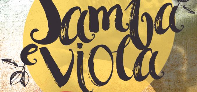 """""""Samba e Viola"""" dia 15 de julho em Pedro Leopoldo"""