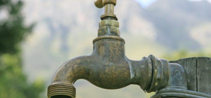 Aviso de interrupção de abastecimento de água