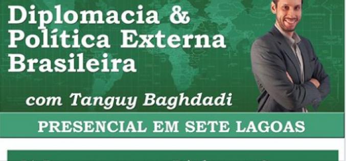 Damásio e OAB Sete Lagoas promovem Curso Clio com palestra sobre diplomacia e política externa