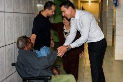 Deputado Douglas Melo assume compromisso de liberar recursos para Lar de Idosos de Pirapama
