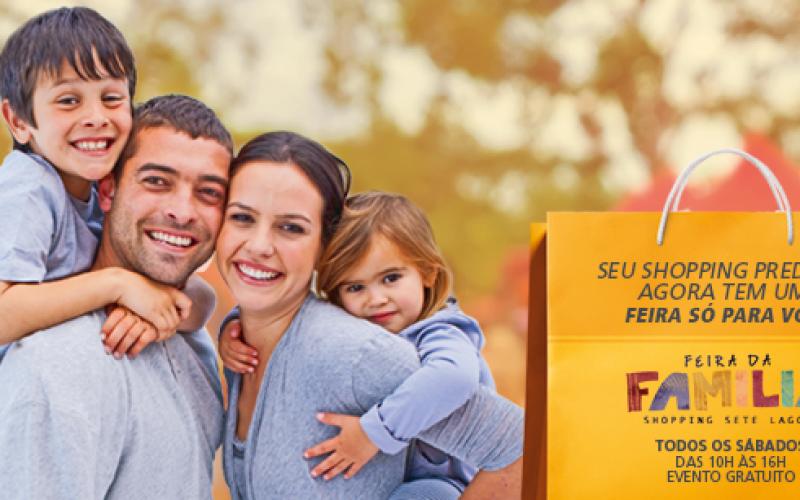 Feira da família promove recreação e atividades culturais neste fim de semana