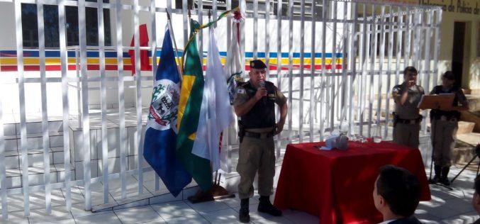Inaugurada reforma do 5º Pelotão PM – Baldim