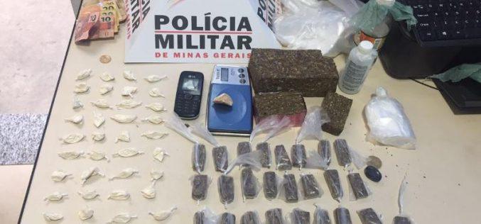 Menor é apreendido por tráfico de drogas no bairro Bela Vista