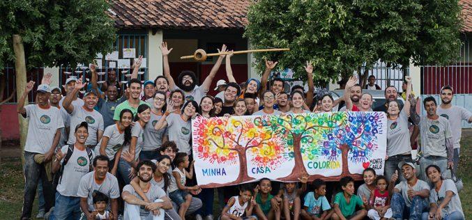 Projeto Minha Casa Colorida busca voluntários para sua terceira edição