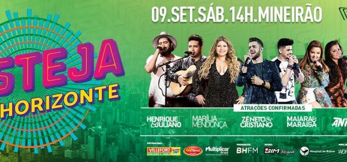 Festeja Belo Horizonte no Mineirão