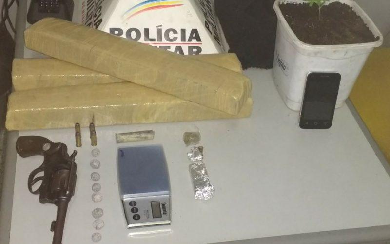 Grande quantidade de droga é apreendida no Bairro Planalto