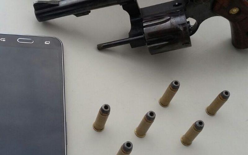 Mulher é presa por porte ilegal de arma de fogo no bairro Ondina