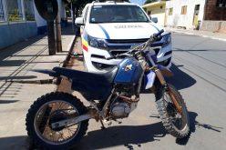 Moto furtada foi apreendida e condutor é preso por receptação em Paraopeba