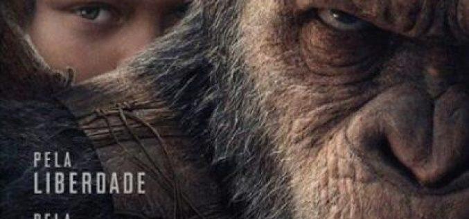 Estreia hoje nos cinemas Planeta dos Macacos: A Guerra.