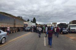 Atualização da Manifestação de Caminhoneiros em Minas Gerais