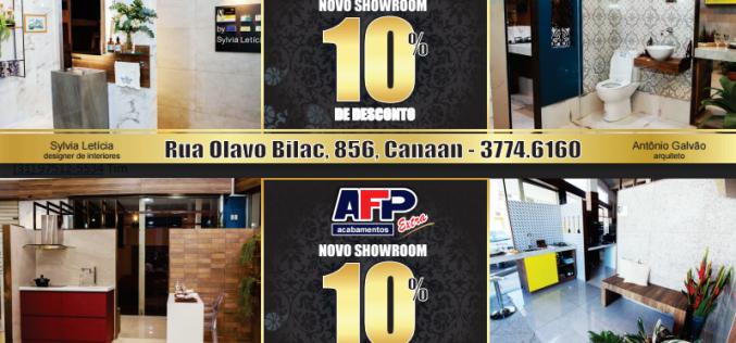 Promoção Novo Showroom AFP EXTRA