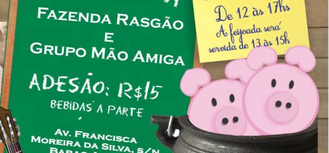Projeto Mão Amiga promove 1ª Feijoada Beneficente