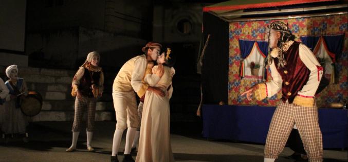 Grupo Carroça Teatral se apresentou na 31ª Festa do Folclore