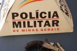 Polícia Militar apreende menor com arma de fogo, drogas e munição