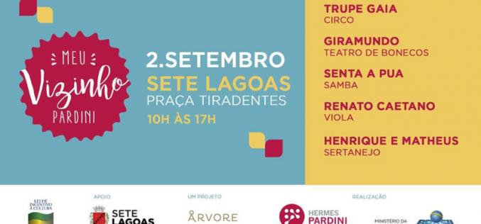 Meu Vizinho Pardini traz Festival com atrações diversas e gratuitas