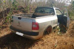 Veículo roubado em Caetanópolis é recuperado pela PM no Lontrinha