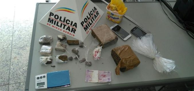 Polícia Militar apreende dois menores por envolvimento com o tráfico de drogas no Jardim dos Pequis
