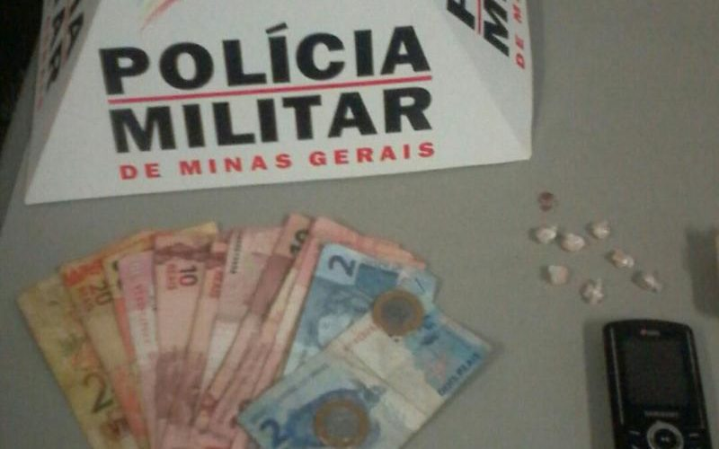 Autor é preso por tráfico de drogas no bairro Ondina Vasconcelos