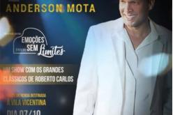 Anderson Mota se apresenta no Clube Náutico no próximo mês